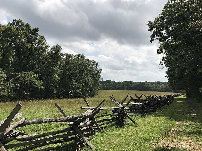 Second Battle of Manassas Trail Loop at Manassas National Battlefield Park by Marcus I. Fong at Alltrails.com
