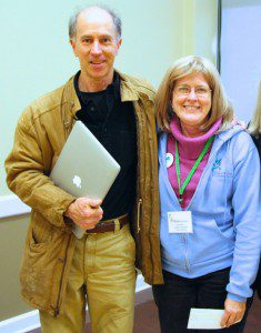 Author Rick Darke with VNPS and Prince William Wildflower Society President, Nancy Vehrs