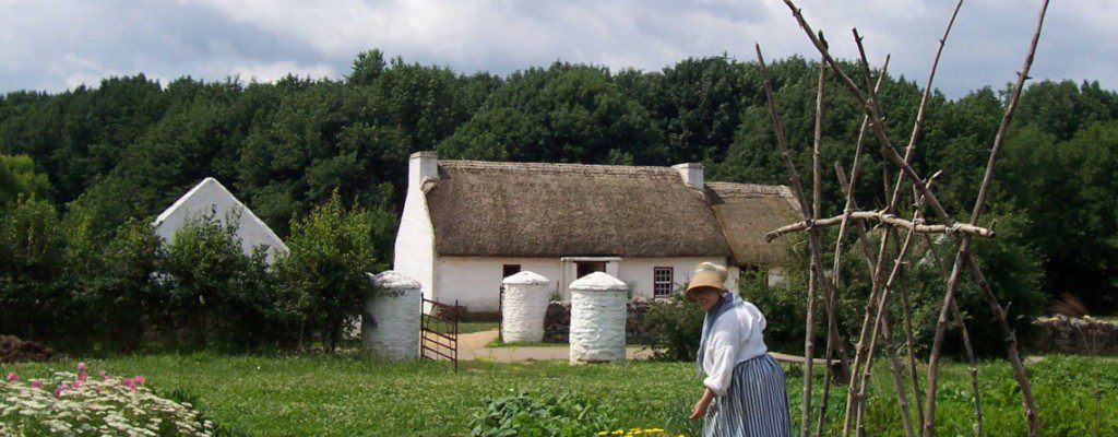 A 1700s Irish farm at the Frontier Culture Museum in Staunton. Photo used with their permission.