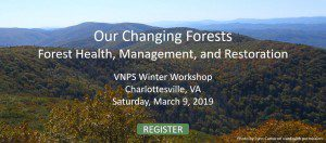 VNPS Winter Workshop, Charlottesville , VA, Saturday, March 9, 2019