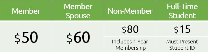 Winter Workshop 2019 Registration Fees
