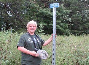 Cathy Ledec at Mt. Eagle Park Native Meadow