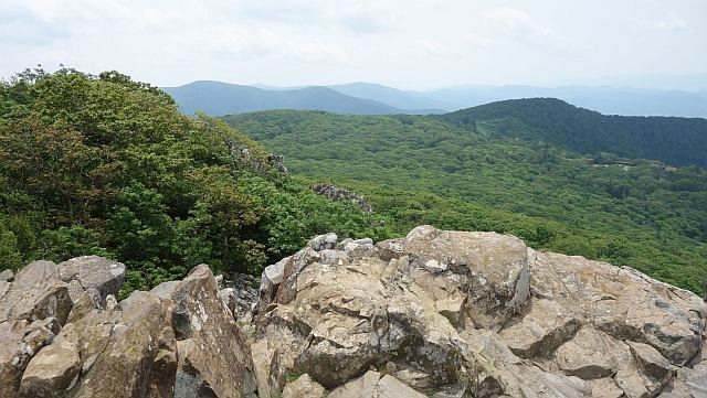 View From Stony Man Outcrop Shenandoah National Park Copyright (c) Alltrails.com used with permission