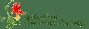 Native Plant Conservation Campaign Logo 131x400